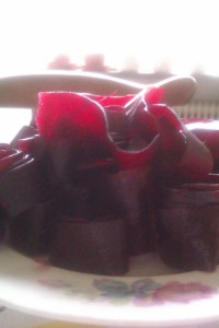 Blackberry and apple fruit leather