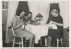a friend(?), my gran and her sister