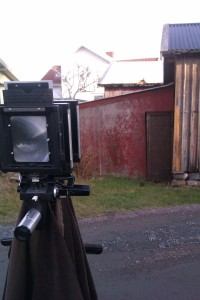 My most modern large format camera