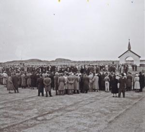 Photographer: Sven Samuelsson, opening day 1952