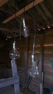 My homemade lights