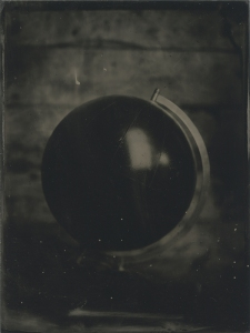 the world as a tintype